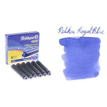 Pelikan Ink Cartridge Small Blue 20Pack (TP6)
