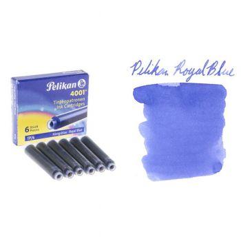 Pelikan Ink Cartridge Large Blue 10Pack (GTP5)