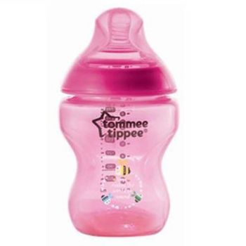 Tommee Tippee Closer To Nature Tinted Bottle 260ML Magenda Pack1 (TT 422576)
