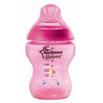 Tommee Tippee Closer To Nature Tinted Bottle 150ML Magenda Pack1 (TT 422676)