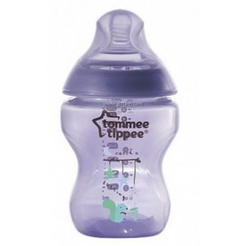 Tommee Tippee Closer To Nature Tinted Bottle 150ML Purplish Pack1 (TT 422679)