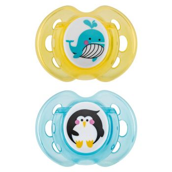 Tommee Tippee CTN Pack2 Air Soother 0-6M With Case (TT 433376)