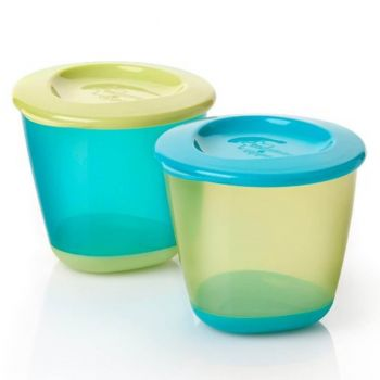 Tommee Tippee Pop Up Weaning Pots Pack2 (TT 446502)