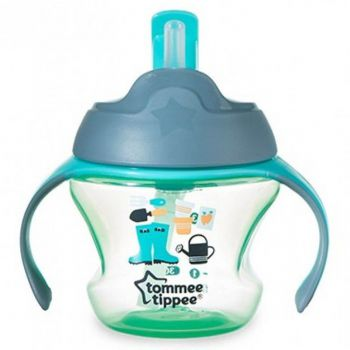 Tommee Tippee Training Straw Cup Green (TT 447006)