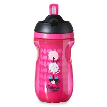 Tommee Tippee Active Straw Cup Pink (TT 447025)