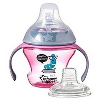 Tommee Tippee Transition Cup Blue Nipple + Spout 150ML (TT 447084)