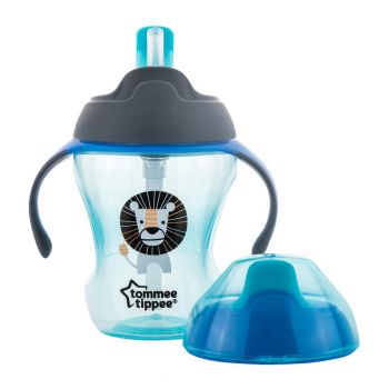 Tommee Tippee Stage 2 Easy Drink Cup 230ML Blue (TT 447145)
