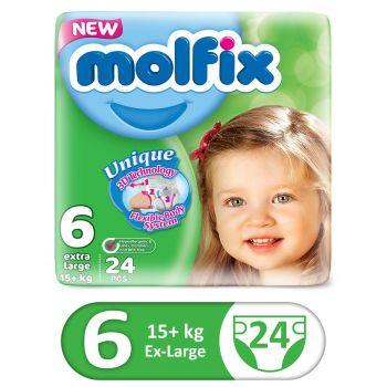 Molfix 3D XLarge 24Pcs Twin Size 6