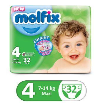 Molfix 3D Twin 32Pcs Maxi Size 4