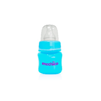 Mechico Color Wee Baby Feeding Bottle 60ML/2oz - Blue