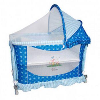 Tinnies Baby Crib Blue (Y541)