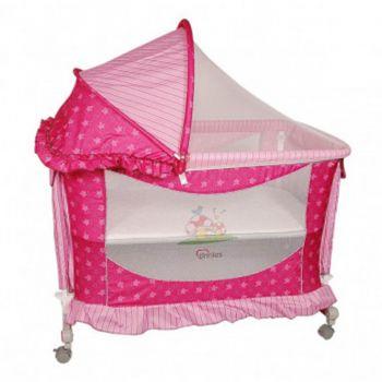 Tinnies Baby Crib Pink (Y541)